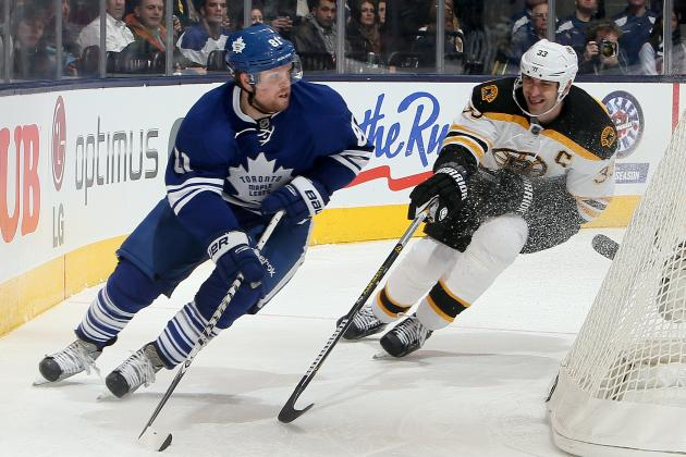 Toronto Maple Leafs' Offence Goes Quiet in Yet Another Loss to Boston Bruins