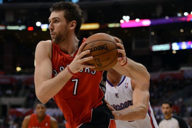 Lakers Trade Rumors: LA Should Target Andrea Bargnani in Swap for Pau Gasol