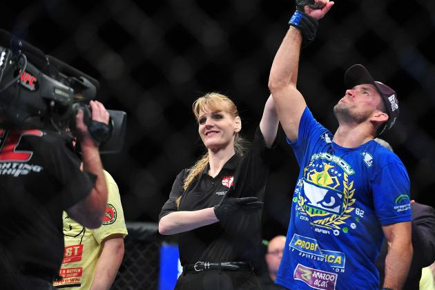 Demian Maia Stole the Show at UFC 156
