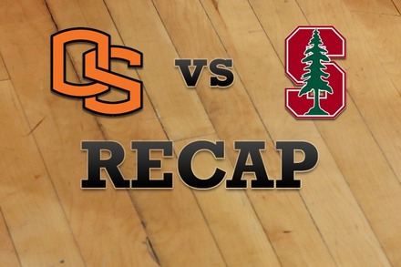 Oregon State vs. Stanford: Recap and Stats