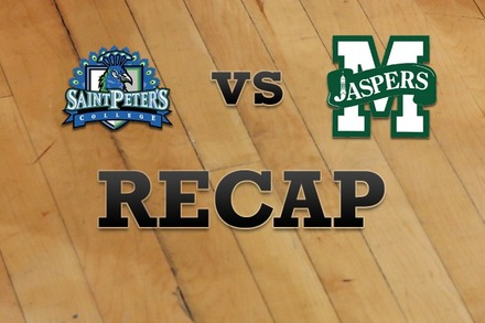 St. Peter's vs. Manhattan: Recap and Stats