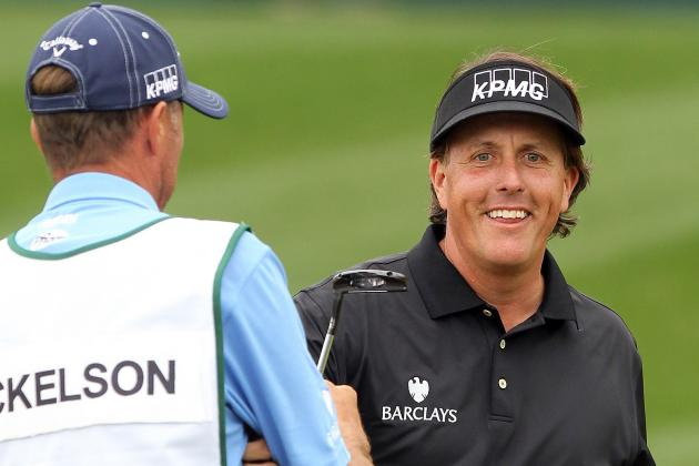 Mickelson Birdies No. 7 in Round 4 of Waste Management