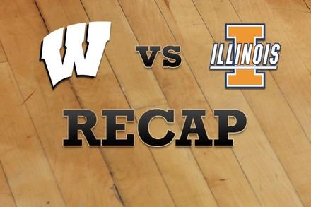 Wisconsin vs. Illinois: Recap and Stats