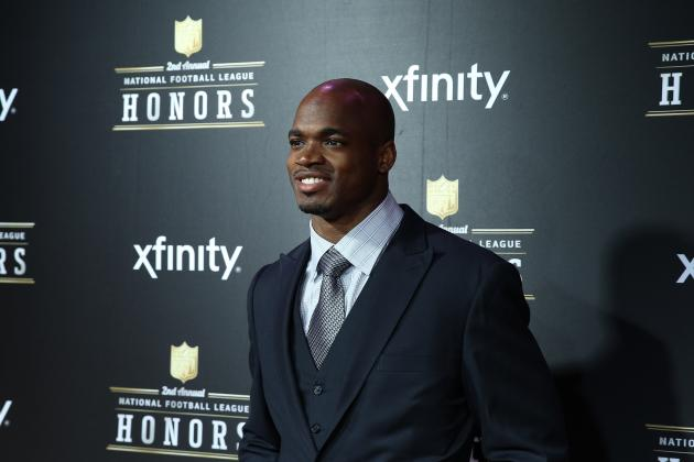 NFL MVP 2013: Adrian Peterson Will Be Last RB to Win Award for Several Years