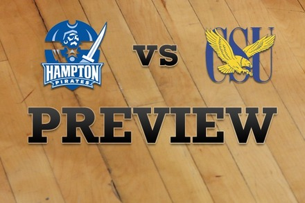 Hampton vs. Coppin State: Full Game Preview