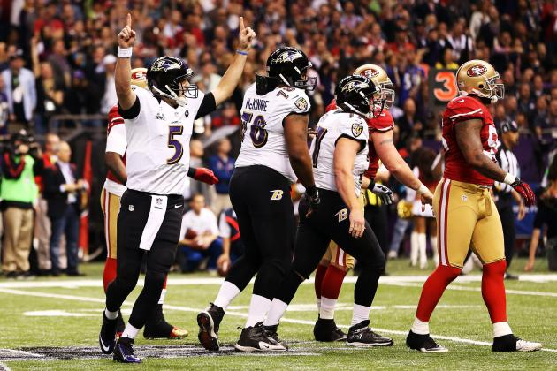 Super Bowl Quarter Score: Ravens vs. 49ers 1st Quarter Update and Recap