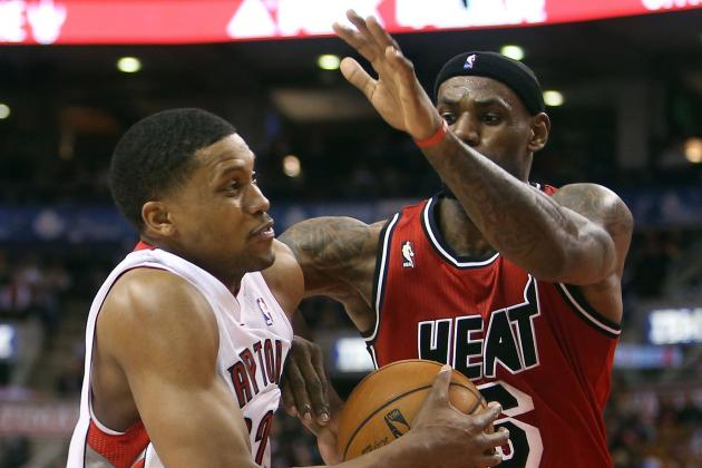 Raptors Offense Sputters in Loss to Heat at ACC