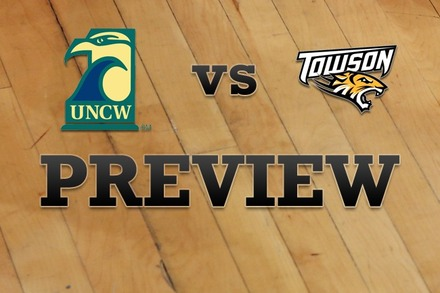 UNC Wilmington vs. Towson: Full Game Preview