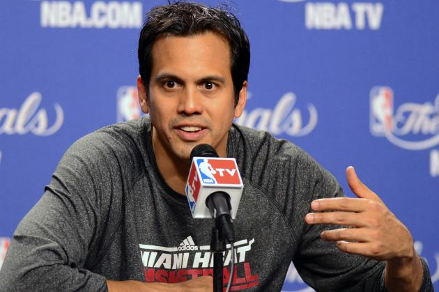 Erik Spoelstra Hints Toward Three Heat Starters in All-Star Game