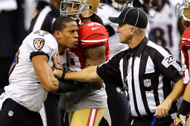 Video: Cary Williams Shoves Ref, Gets Away with It