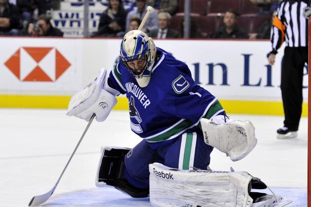 Luongo to Start Again Monday for Canucks