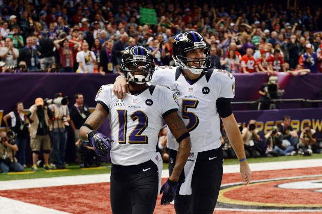 Joe Flacco Connects with Jacoby Jones on 56-Yard TD Bomb