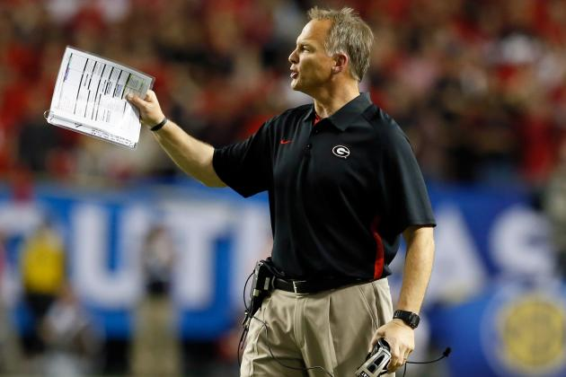 Hip Surgery Hospiltalizes Georgia's Mark Richt