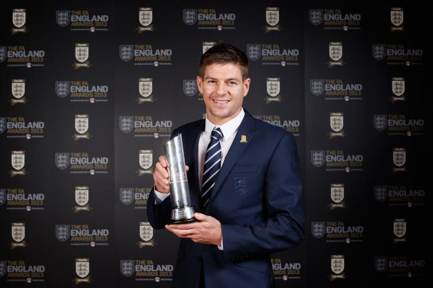 Liverpool's Steven Gerrard Named England Player of the Year