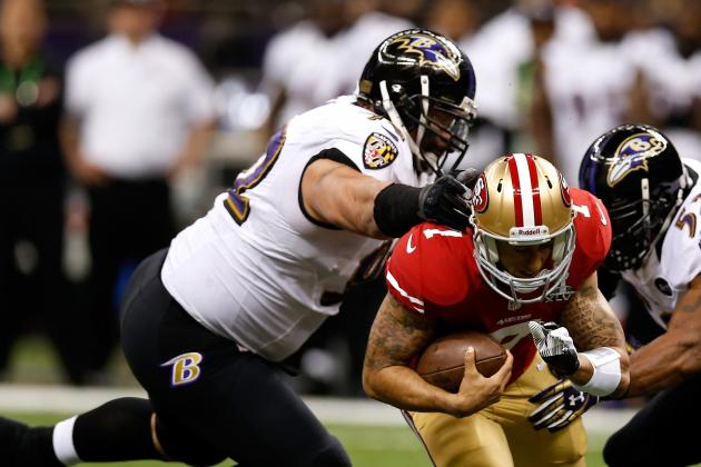 Ngata Doubtful to Return vs. 49ers Due to Knee Injury