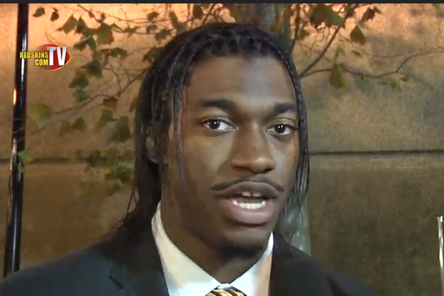 Robert Griffin III: Messege to Fans