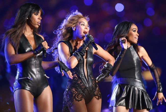 Beyonce & Destiny's Child Superbowl Performance