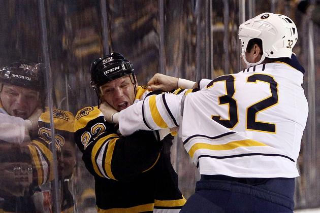 Bruins Play to Win Games, Not Fights