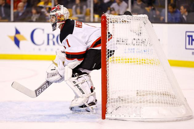 Is the New Jersey Devils' Johan Hedberg the Best Backup Goaltender in the NHL?