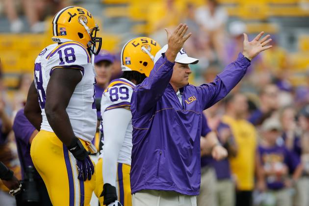 LSU Football: Is Current Depth Hurting Les Miles' Recruiting?
