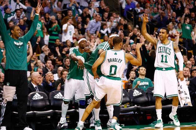 Celtics' Bench More Than Picking Up the Slack