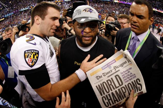 Super Bowl 2013: Ravens Stars Take to Twitter to Celebrate Championship Win