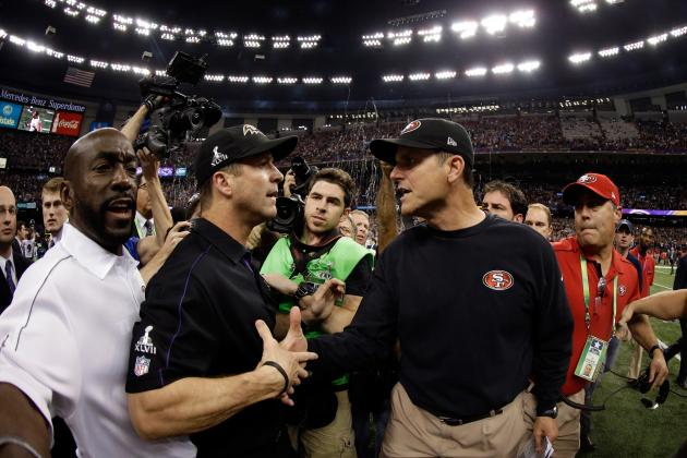 San Francisco 49ers: Harbaugh and Roman Just as Much to Blame as the Refs