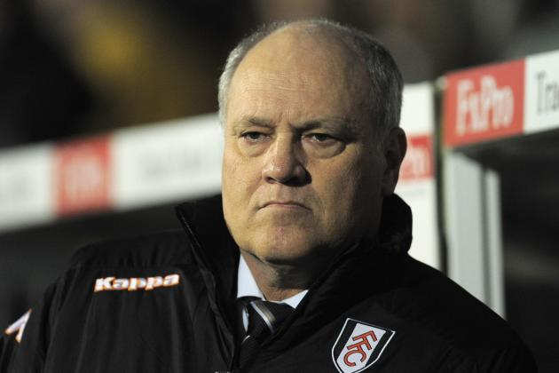 Fulham Boss Martin Jol Wants to Reach 40-Point Mark as Soon as Possible