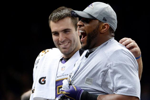 Partying with Super Bowl MVP Joe Flacco Means Parents, Pop