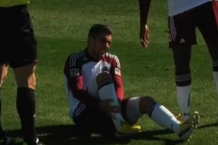 Positive Diagnosis: Rapids Expect Injured Rivero Back Early
