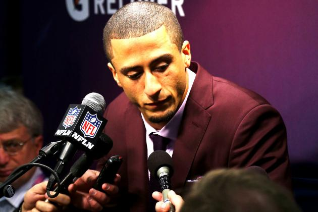 Colin Kaepernick Accepts Blame for 49ers' Super Bowl Loss to Ravens