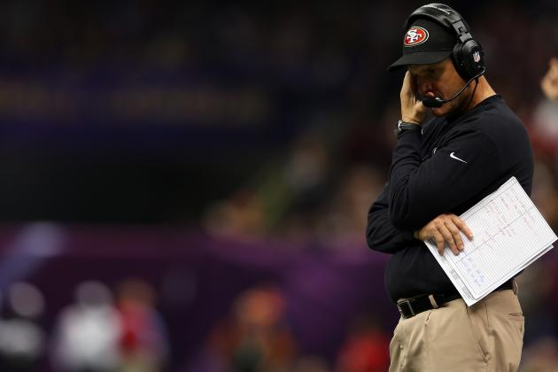 Jim Harbaugh Upset About Late Penalties, or Lack Thereof