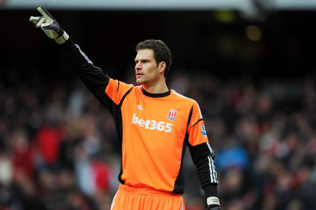 Stoke Will Demand £15m from Manchester United for Asmir Begovic