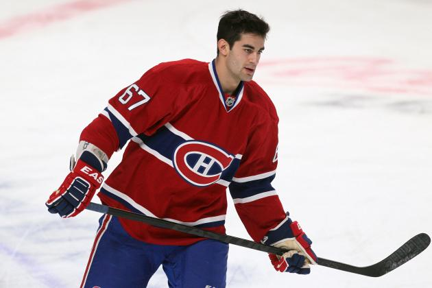 Max Pacioretty Returns to Montreal Canadiens Eight Days After Appendectomy
