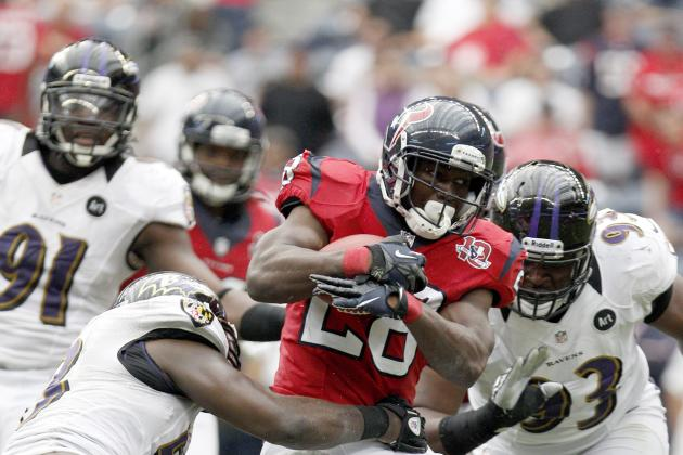 How the Texans Stack Up to the Ravens