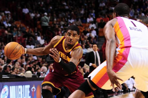 Debate: Should Erik Spoelstra Start Chris Bosh or Kyrie Irving in the ASG?