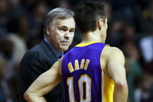 Ding: Lakers' Nash Needs to Try a Little Selfishness