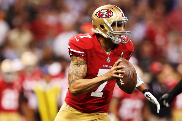 Baltimore Expected Kaepernick from the 5-Yard Line and More NFC West News