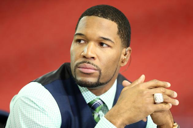 After Being Snubbed, Michael Strahan Should Be a Hall of Fame Shoo-in for 2014
