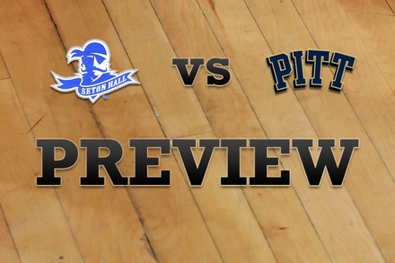 Seton Hall vs. Pittsburgh: Full Game Preview