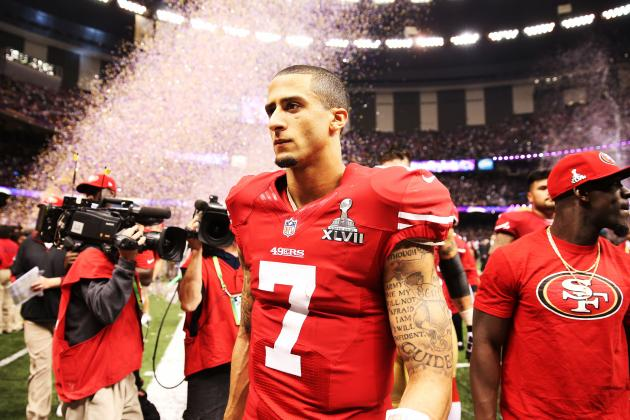 Colin Kaepernick's Resolve in Super Bowl Loss Is Encouraging for 49ers
