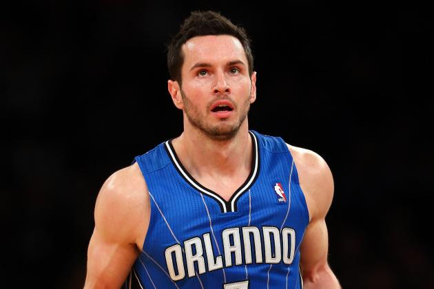 Report: Redick Out vs. 76ers, Will Have MRI on Sore Shoulder Tuesday