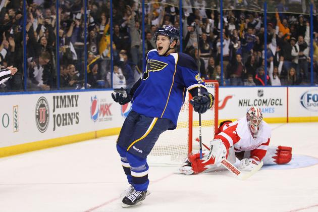 St. Louis Blues' Vladimir Tarasenko Named January's Rookie of the Month