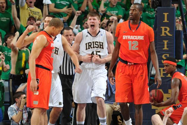 Syracuse Basketball: Orange Bigs Should Take Notes from Notre Dame's Jack Cooley