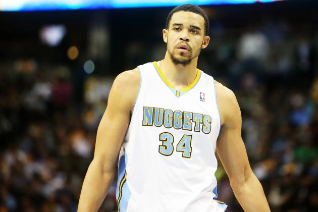 JaVale McGee's Return Pushes Timofey Mozgov out of Nuggets' Spotlight
