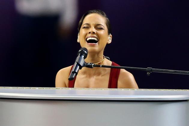 Alicia Keys National Anthem: Breaking Down Singer's Performance