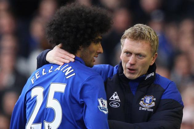 Everton: How Marouane Fellaini Has Become so Effective for David Moyes