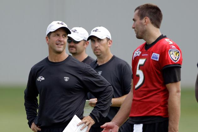 John Harbaugh: Joe Flacco Hasn't Let Anything Stop Him