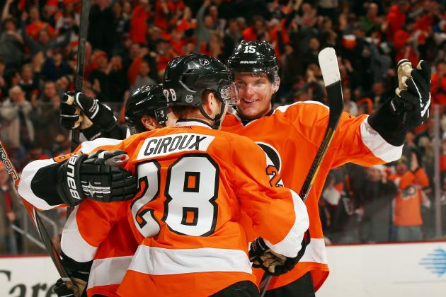 Flyers Captain Claude Giroux Puts Slump Behind Him