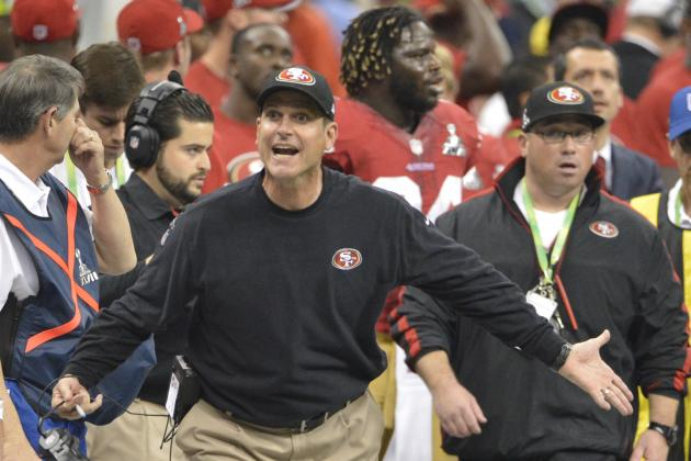 Did Jim Harbaugh's Whining Ultimately Cost the 49ers a Super Bowl Championship?